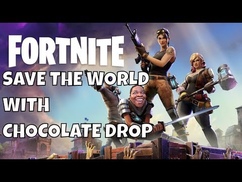 Fortnite Save The World Gameplay - Fortnite Zombies Mode - Valentine Event Stream