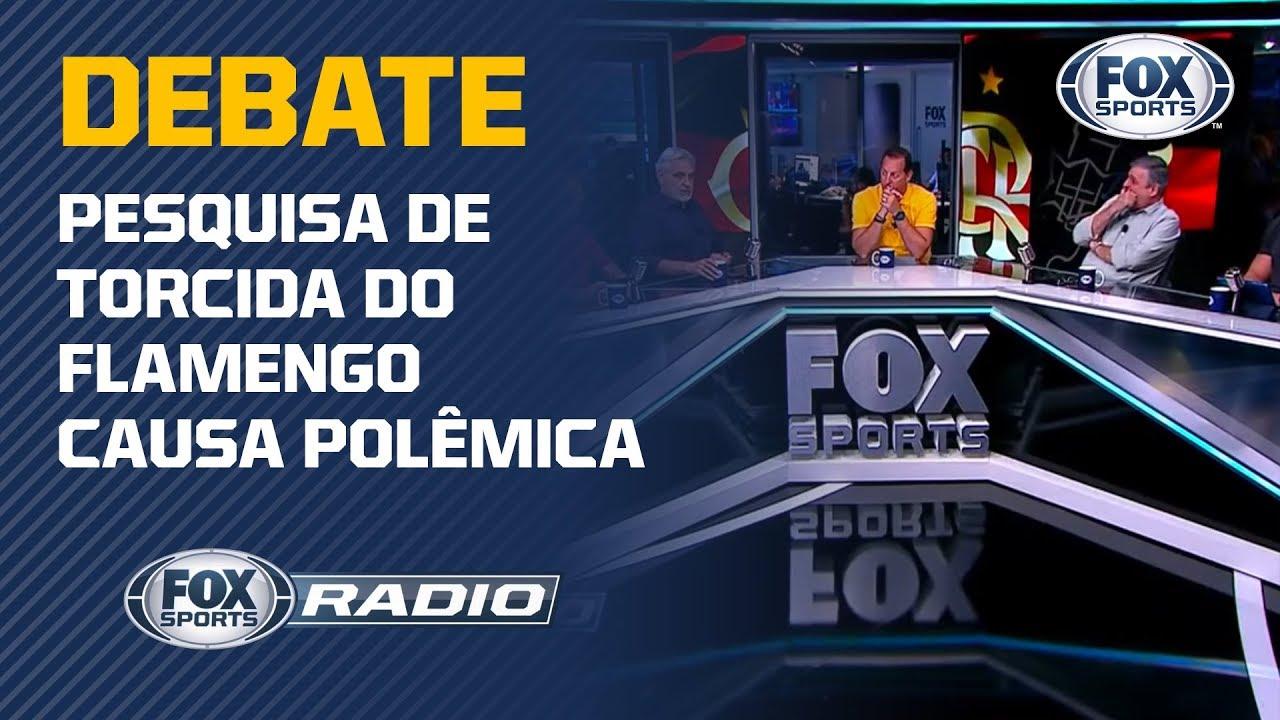 Download FLAMENGO X CORINTHIANS: Pesquisa sobre torcidas gera debate no FOX Sports Rádio