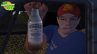 My Summer Car - Buying Booze from Svoboda guy & Towing Service