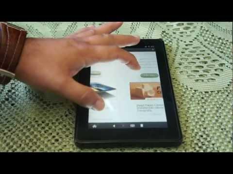 Kindle fire completo análisis de la tablet de amazon