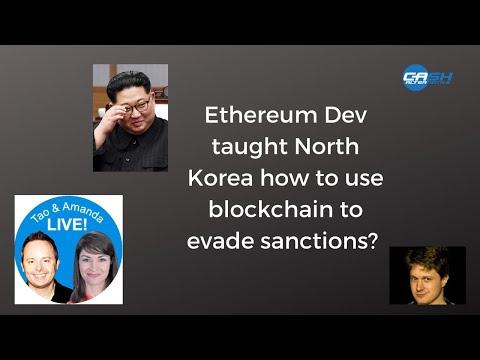 Using Blockchain To Evade Sanctions? | Tao & Amanda LIVE!