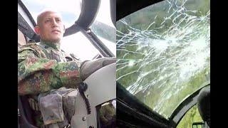 En pleno vuelo, bala pasó a milímetros de piloto del Ejército en Caquetá