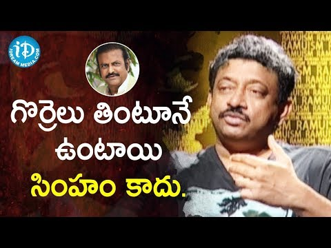 People Addicted To Eat Food For Taste - Director Ram Gopal Varma | Ramuism 2nd Dose
