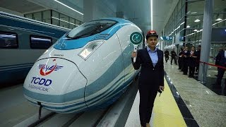 Chinese high-speed railway in Turkey: Faster, safer, and more reliable