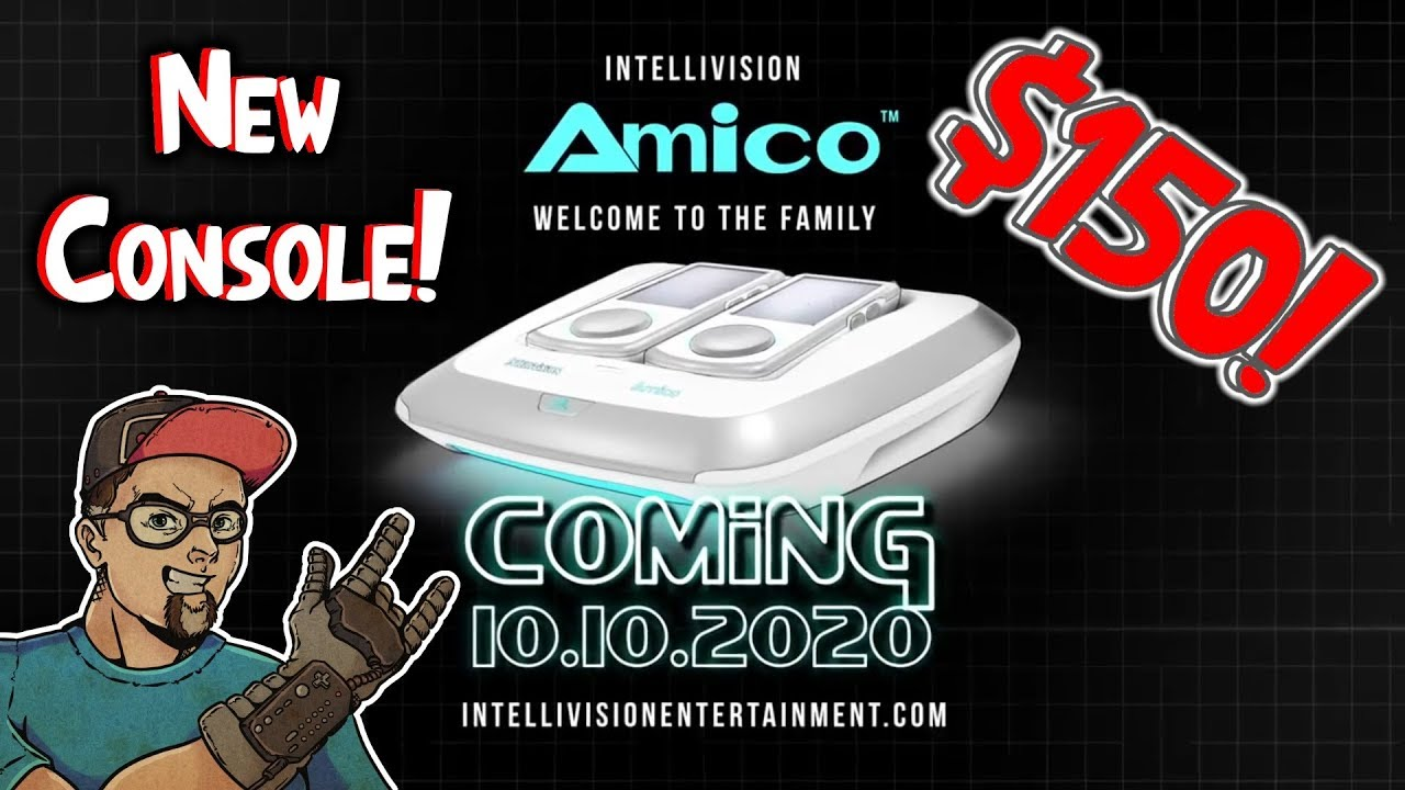NEW Intellivision Amico Console Announced! Family Friendly Gaming Machine!