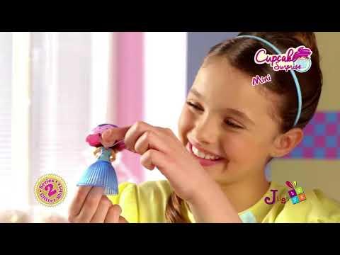 Cup Cake Surprise Mini Glitter: Μικρές Πριγκίπισσες με Glitter, Σειρά 2 - 12 Σχέδια