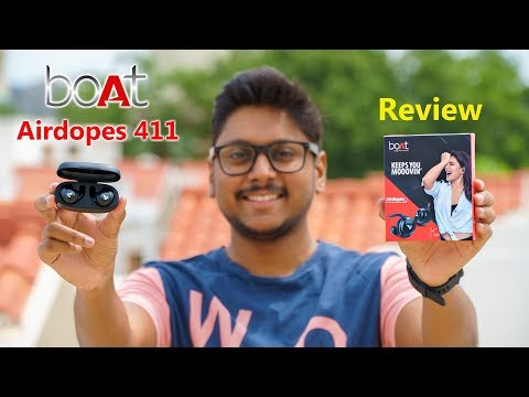 boAt Airdopes 411 BT5.0 TWS Earbuds Unboxing & Review