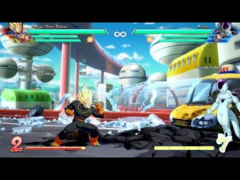 Vegito Plz: Easy 95-97% Damage Combo