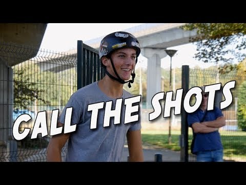MON CALL THE SHOTS AU SKATEPARK !