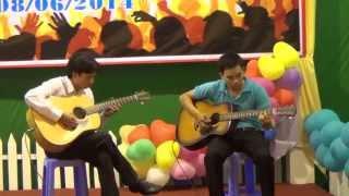 XIN CHO CON BIET LANG NGHE (SONG TAU GUITAR)