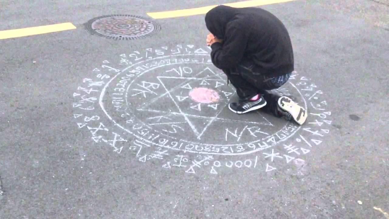 書き方 魔法 陣
