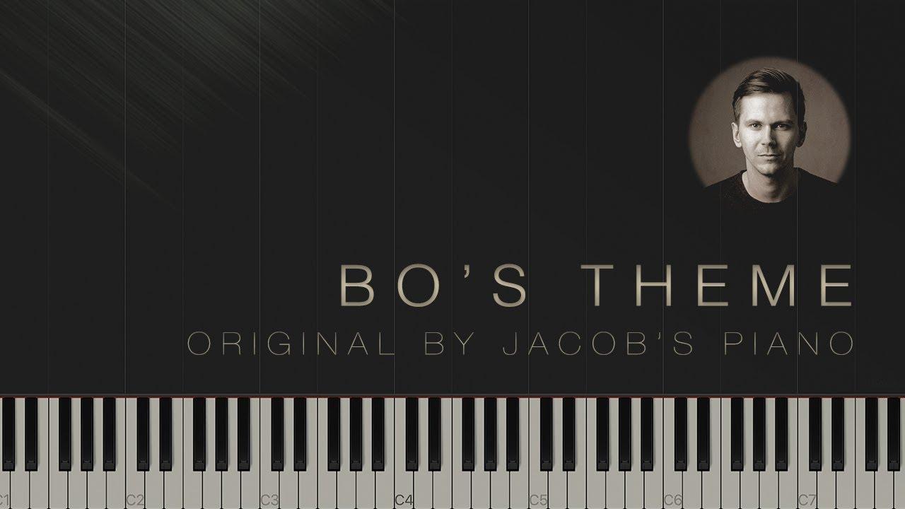 Bo's Theme - Jacob's Piano \\ Synthesia Piano Tutorial