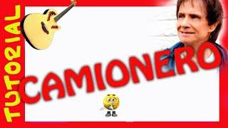 Como tocar CAMIONERO de Roberto Carlos en Guitarra Rasgueo acordes