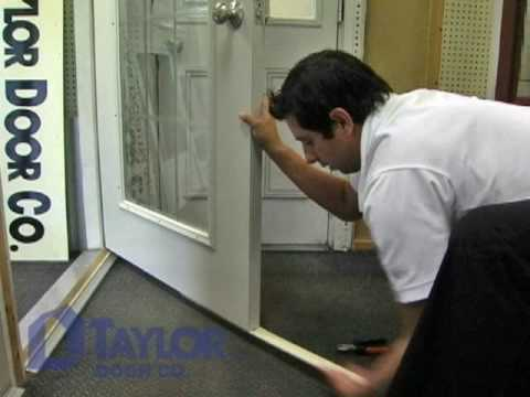 Taylor Door Replace Door Sweep Instructional Video