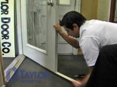 Taylor Door  Replace Door Sweep  Instructional Video