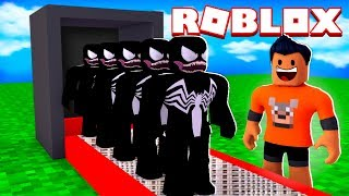 VENOM FACTORY IN ROBLOX! (Super Villain Tycoon) ‹ LOBINHO ›