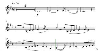 AVE MARIA for Trumpet in Bb e and Piano // PLAY ALONG Sheet Music - Score