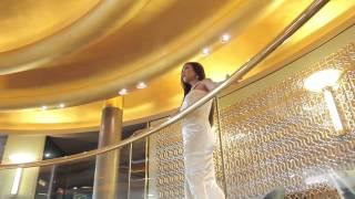 Cruise ship with Sabrina