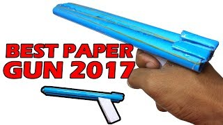 Video How to Make a Paper Toy Gun that Shoots Rubber Bands   Easy Paper Toys Gun Tutorials 2018 download MP3, 3GP, MP4, WEBM, AVI, FLV November 2018