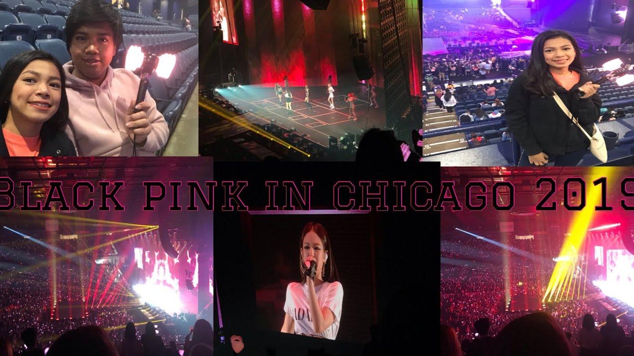BLACKPINK CONCERT IN CHICAGO 2019?? - YouTube