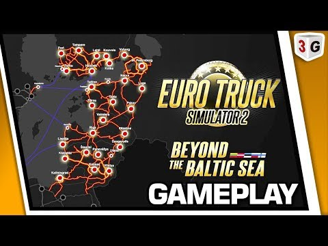APRESENTANDO DLC BEYOND THE BALTIC SEA - EURO TRUCK SIMULATOR 2