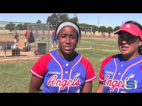 Student Sports Softball Spotlight: Corona Angels' Taylor White and Ashley Goodwin
