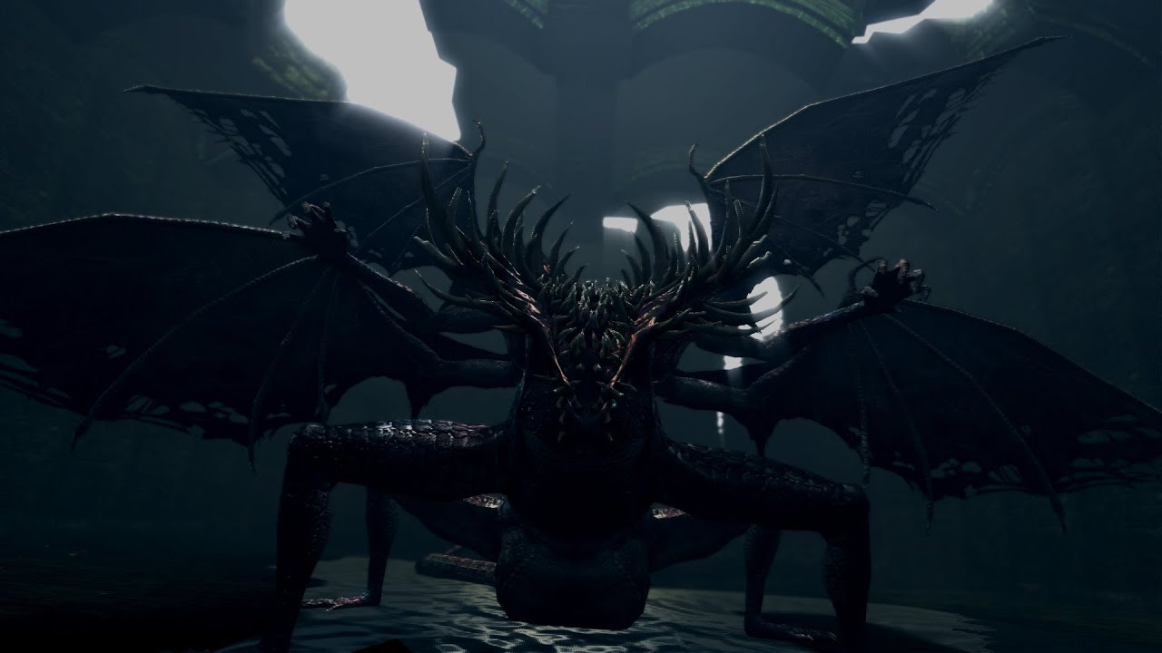 5 Things We Learned About Dark Souls 2 From Today S: Does Anyone Remember The Gaping Dragon In Dark Souls? : Gaming