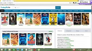 HOW TO DOWNLOAD LATEST  NEW  BOLLYWOOD , HOLLYWOOD MOVIE USING TORRENT AND TODAYPK