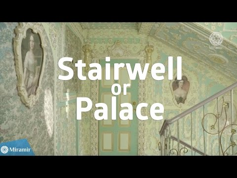 Stairwell or Palace? What this pensioner from Kiev did is incredible