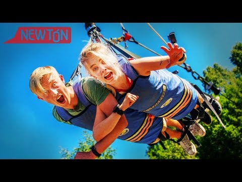 Slippes ned fra 33 meter! Spenning med Herman Dahl