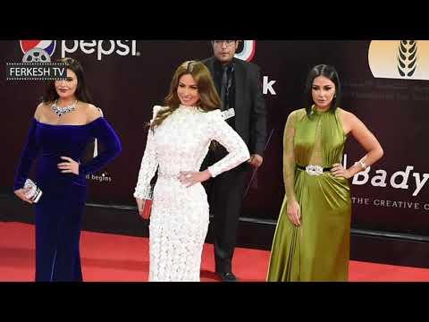 شاهد اطلالات نجمات الفن فى مهرجان القاهرة السينمائى فمن الأجمل؟