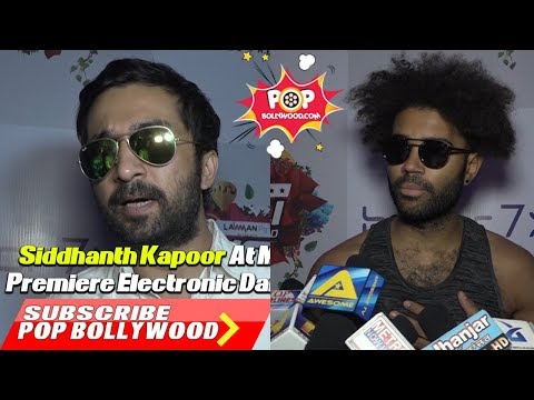 Siddhanth Kapoor At Meet & Greet Of India's Premiere Electronic Dance Music Holi Festival
