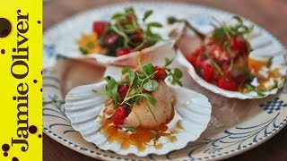 Pan Fried Scallops | Natalie Coleman