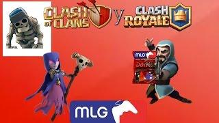 clash royale y clash of clans serie preludio mi propia edicion