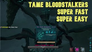 How to tame a Bloodstalker SUPER FAST and SUPER EASY in Ark: Survival Evolved! Genesis Tutorial!