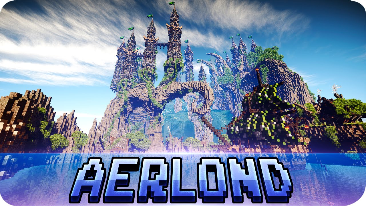 Minecraft Quot Aerlond Quot Fantasy City Map With Download