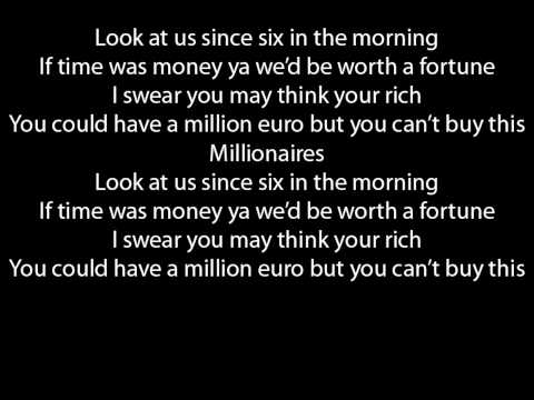 The Script Millionaires lyrics