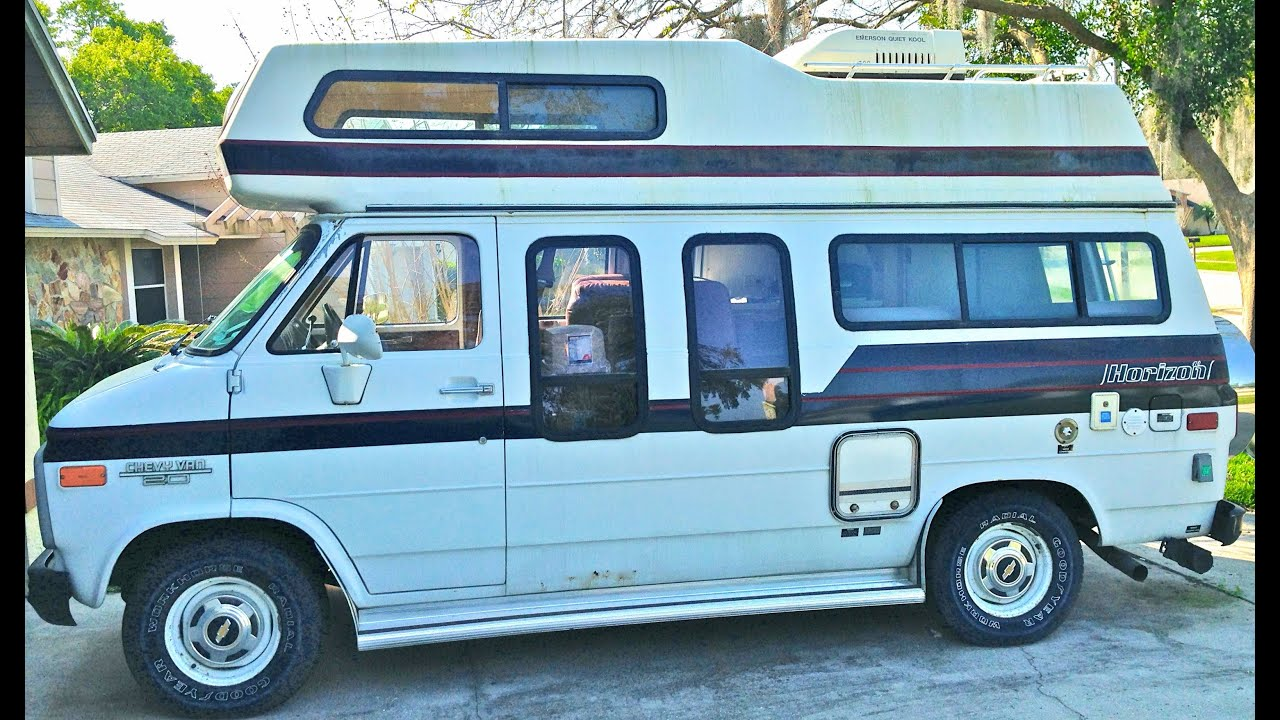 Camper Van Tour Of My New Class B RV