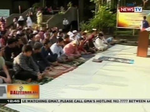BT: Bisperas ng Eid'l Fitr, ipinagdiriwang ngayong araw