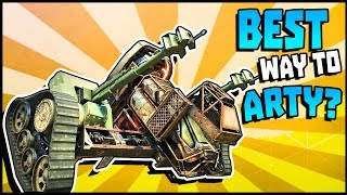 Crossout - The Best Way To Artillery! Horizontal Mandrake Gameplay (Crossout Gameplay)