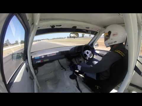 Holden V6 VN Commodore at Winton Raceway 25/11/16