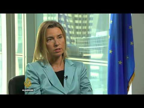 Talk to Al Jazeera - EU foreign policy chief: Europe is unit