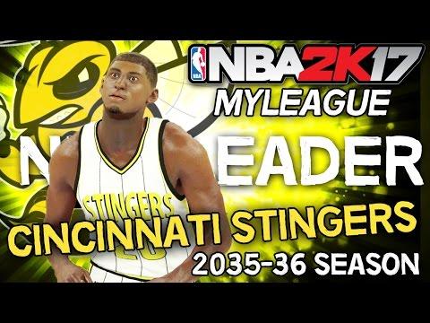 NBA 2K17 MyLEAGUE: Cincinnati Stingers (Season 20) - Aldridge