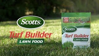 How to Use Scotts® Turf Builder® Lawn Food