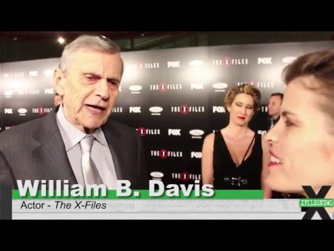 William B. Davis at The XFiles: Season 10 Premiere