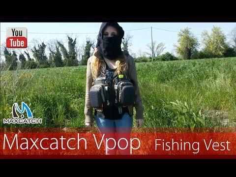 Maxcatch V Pop Flyfishing Vest