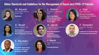WSC 2021–Global Standards & Guidelines for the Management of Sepsis & COVID-19 Patients (Session 15)