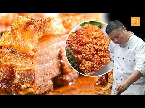 Easy Crispy Pork Belly Cooking by Masterchef | 脆皮燒肉 • Taste Show
