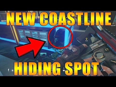 New Hiding Spot on Coastline - Rainbow Six Siege
