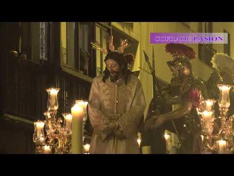 Jesús del Silencio en el Desprecio de Herodes (La Amargura) por Trajano (Semana Santa Sevilla 2018)